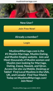 Muslims4Marriage Check out the website.